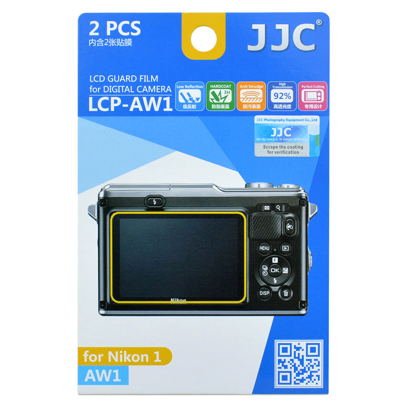 JJC LCD Guard Film for NIKON AW1