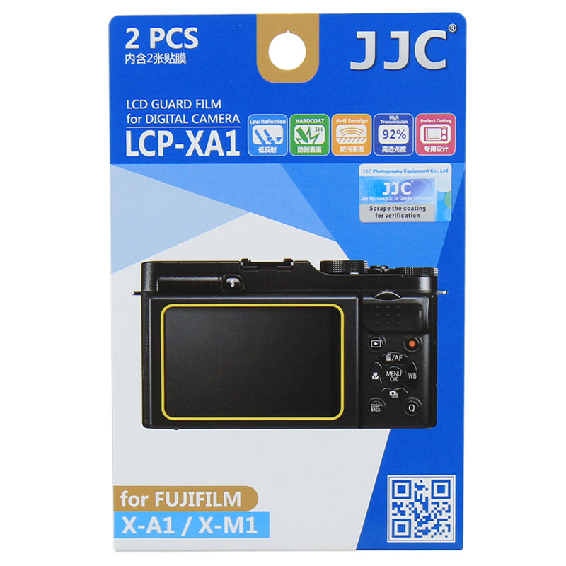 JJC LCD Guard Film for Fujifilm X100T, X-M1, X-A1, X-A2,X100F