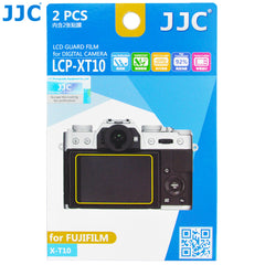 JJC LCD Guard Film for Fujifilm FINEPIX X-T10, X-T20