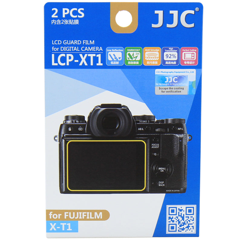 JJC LCD Guard Film for Fujifilm X-T1, X-T2
