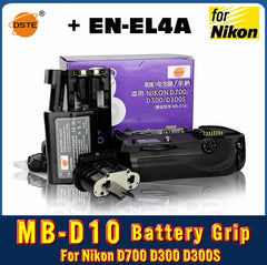 DSTE MB-D10 Battery Grip For NIKON D300 D700 D900