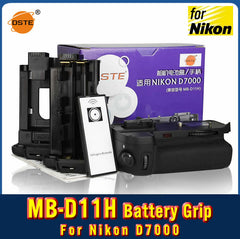 DSTE MB-D11H Battery Grip + IR Remote For Nikon D7000