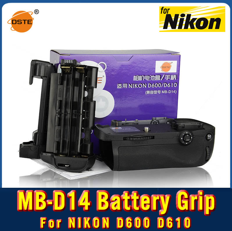 DSTE MB-D14 Battery Grip For Nikon D610 D600
