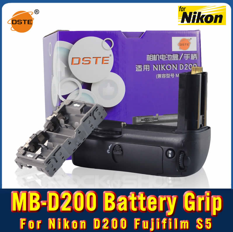 DSTE MB-D200 Battery Grip For Nikon D200 Fujifilm S5
