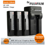 DSTE NP-100 2500mAh Battery and Charger for Fujifilm Exilim S5 P8106 I700 DS260HD 260HD MX600 600X 600Z 700 Zoom