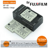 DSTE NP-40 1400mAh Battery and Charger for Fujifilm F470 F402 F455 F460