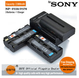 DSTE NP-F550 F570 2900mAh Battery or Charger for Sony TRV81