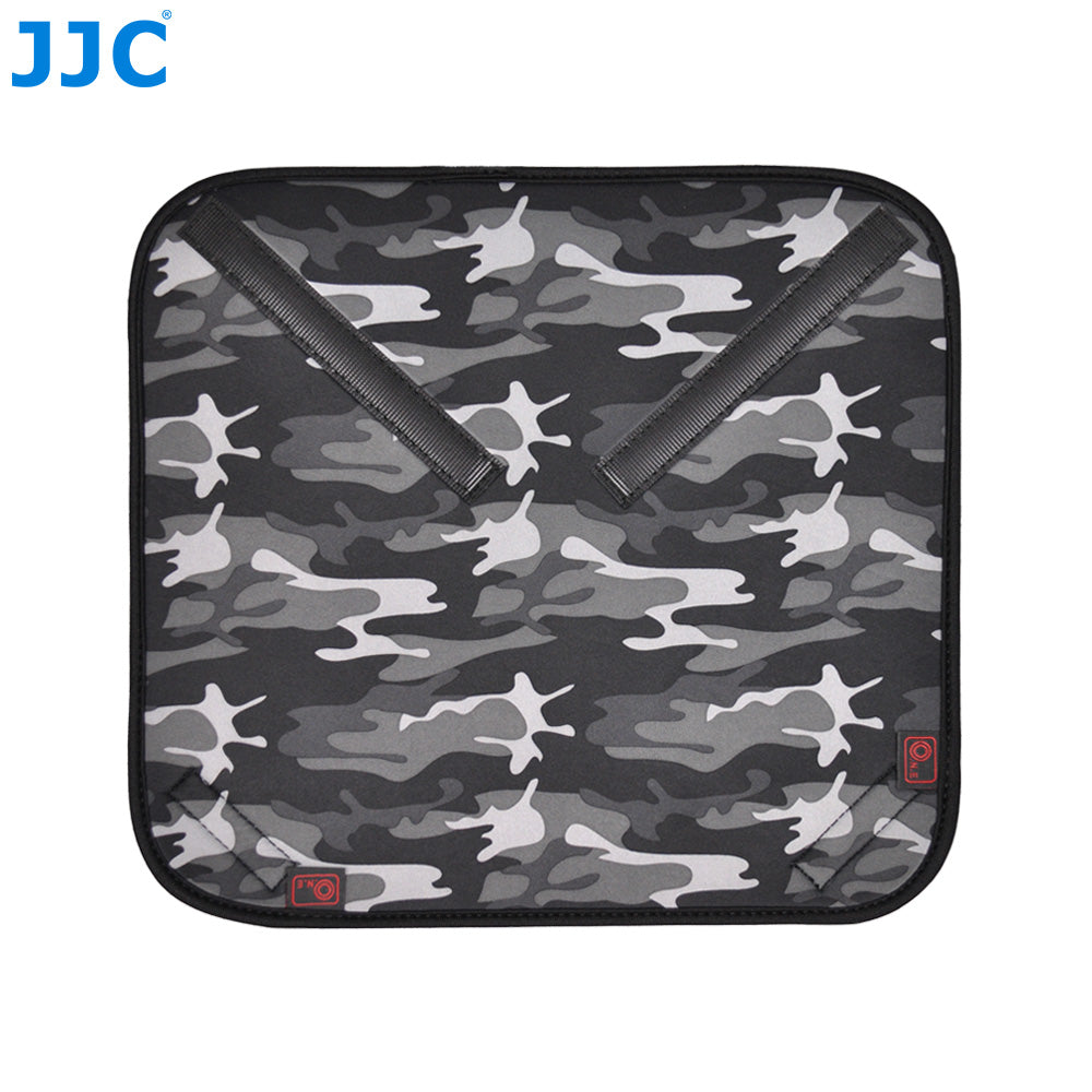 JJC Neoprene Wrapping OZ Series Camouflage Gray