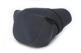 No Logo Neoprene Portable Case Pouch Bag Cover Protector for Sony Pentax Canon Nikon