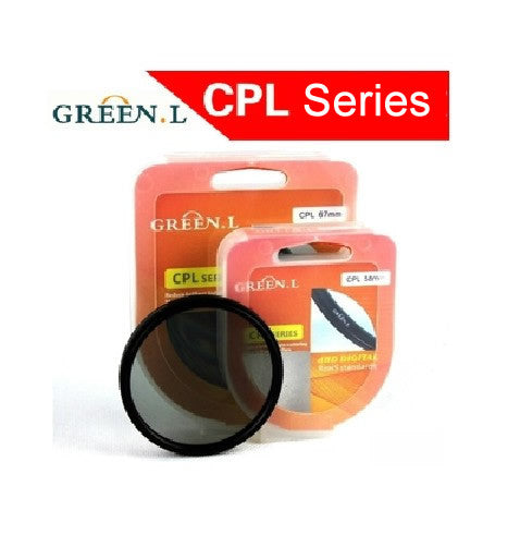 GreenL CPL Filter / Polarizer Filter