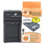 DSTE NP-FR1 1,600mAh Battery and Charger For Sony P200 P100 T30S T50