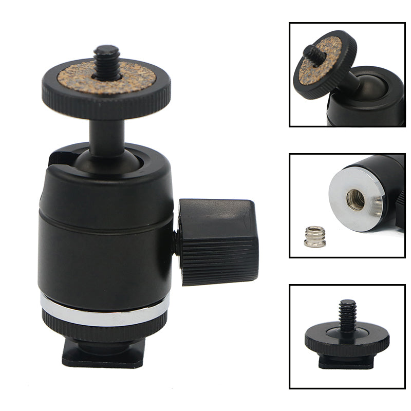 Tripod Ball Head for LED Light / Camera Monitor