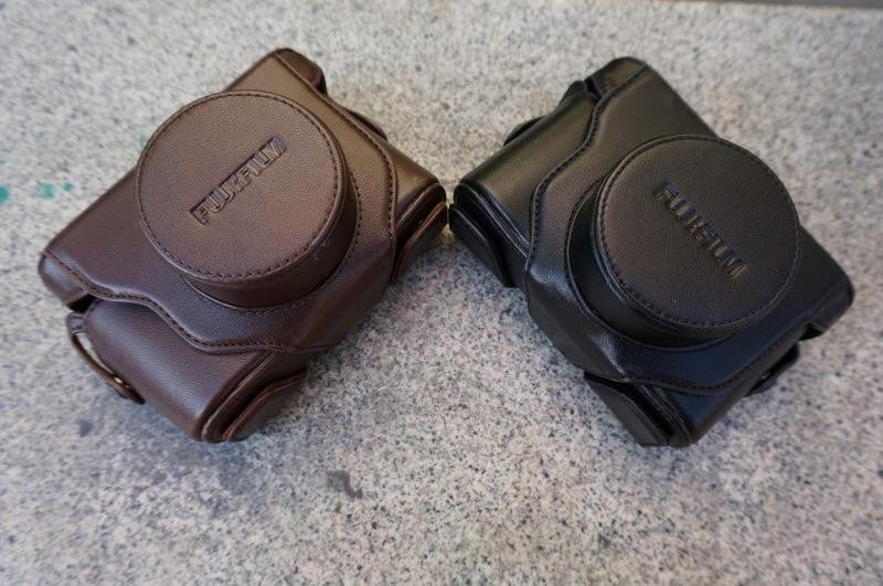 Leather Case Holster for Fujifilm X10 X20