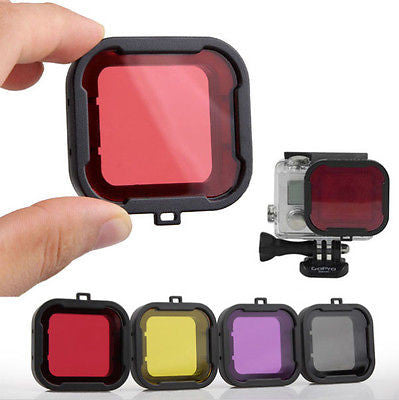 Scuba Diving Color Filter for GoPro 4/3+