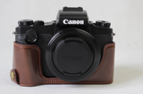 Leather Half Case for Canon G1X III