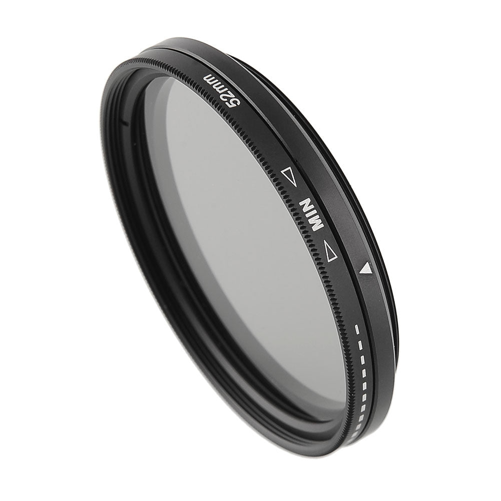 New 52mm / 58mm ND Filter Adjustable ND2 to ND400 Neutral Density F