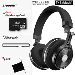 Bluedio T3 Wireless Bluetooth Headphones with Bluetooth 4.1 Stereo