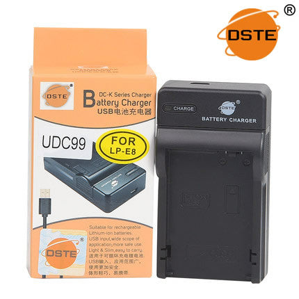DSTE UDC99 LP-E8 USB Charger