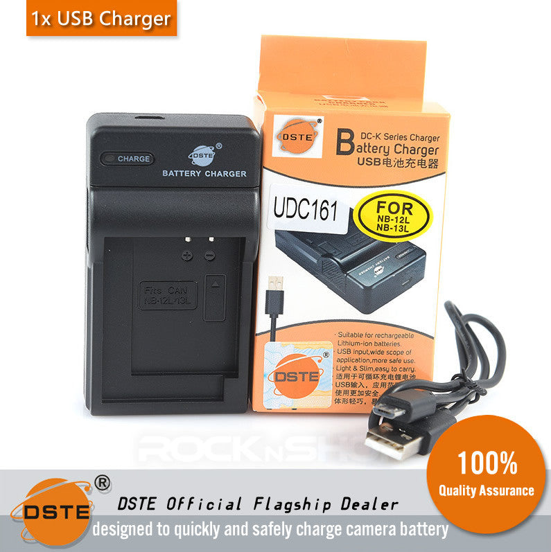 DSTE UDC161 NB-13L USB Charger for Canon G7X