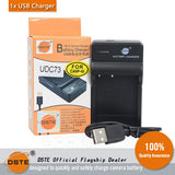 DSTE NP-40 1700mAh Battery and Charger for Casio Z300 Z400 Z450