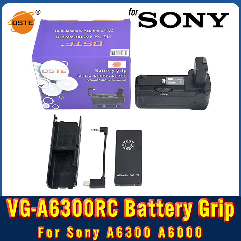 DSTE VG-A6300RC Remote Vertical Battery Grip For SONY A6300 A6000
