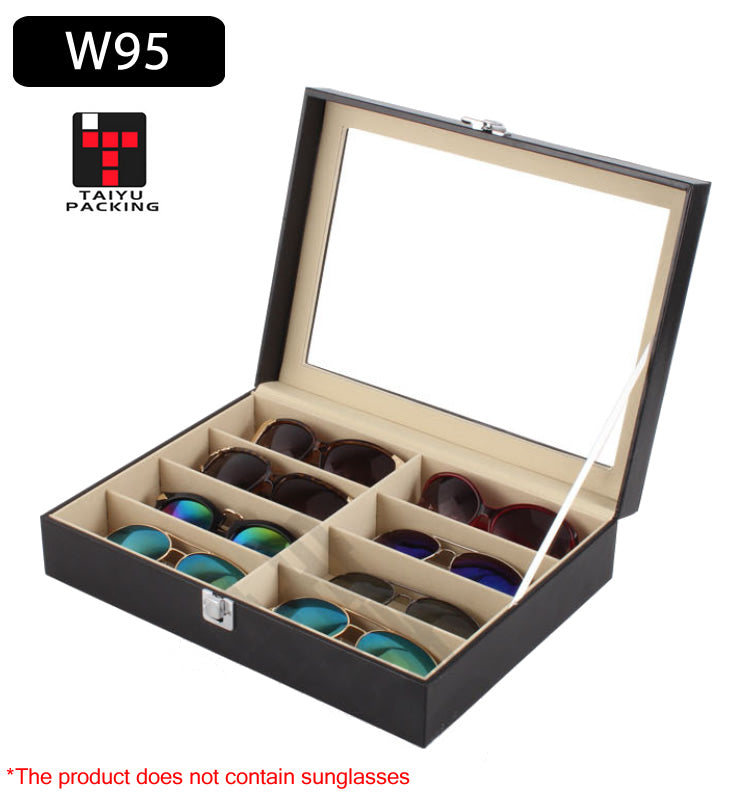 8 Slots Sunglasses / Jewelry Storage Box