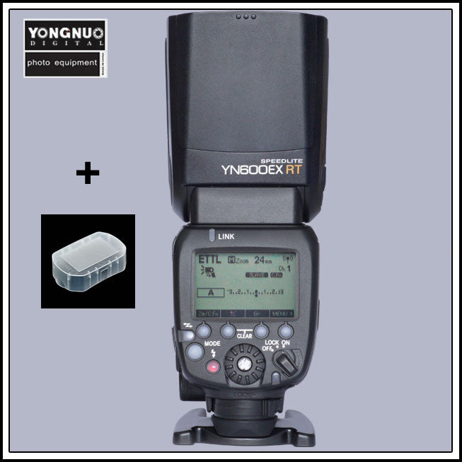 Yongnuo YN600EX-RT Wireless TTL HSS Flash Speedlite for Canon
