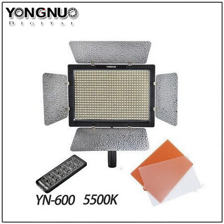Yongnuo YN-600L 600 LED Studio Video Light Lamp 5500k Adjustable for Canon Nikon
