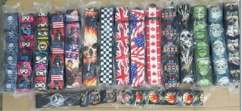 P&P Electric Guitar and Bass Guitar Straps
