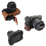 Leather Half Case for Canon EOS M6