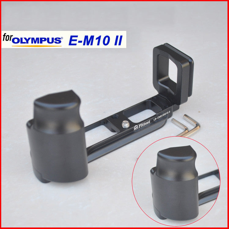 L-Plate Hand Grip for Olympus OM-D E-M10 Mark II