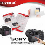 LYNCA Tempered Glass Screen Guard Protector for Sony
