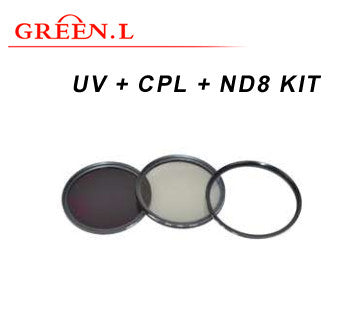 GreenL UV Filter Kit | UV+CPL+ND8