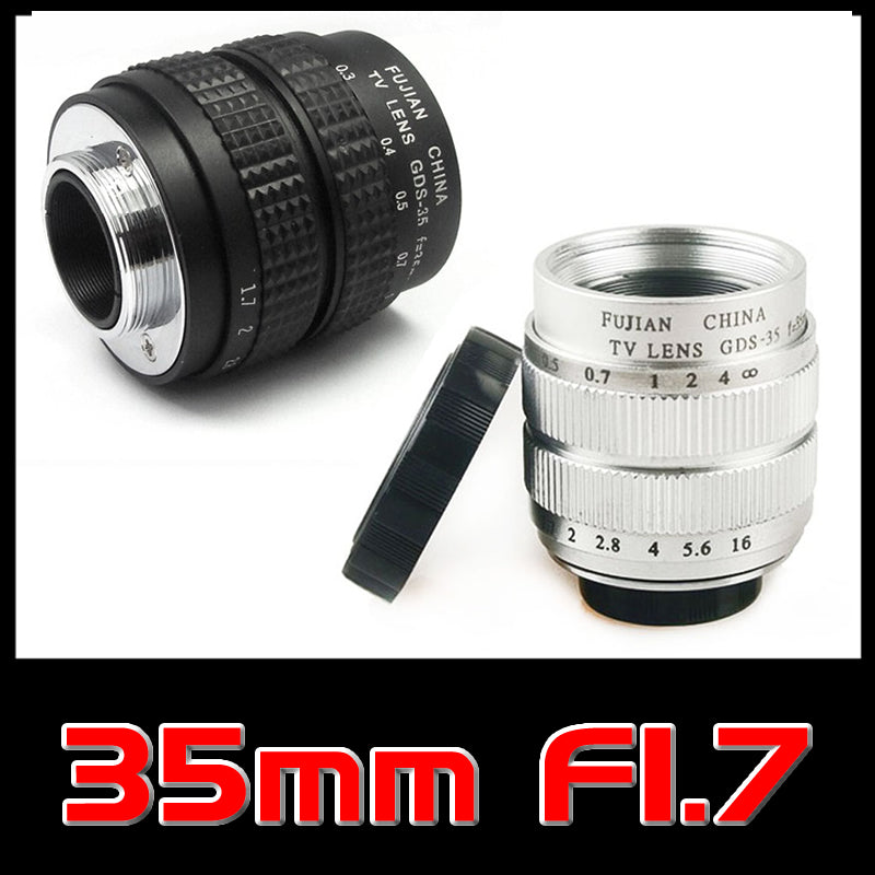 Fujian 35mm f/1.7 CCTV Camera Lens for Sony