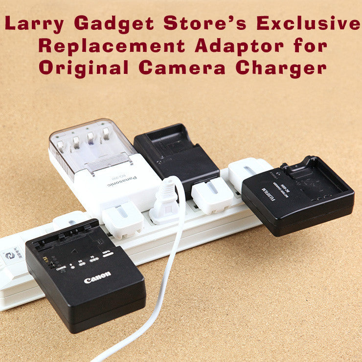 [Larry Gadget Store] Replacement Adaptor for X100S X100T GR Camera Battery Charger