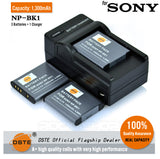 DSTE NP-BK1 1300mAh Battery and Charger for Sony S950 S980
