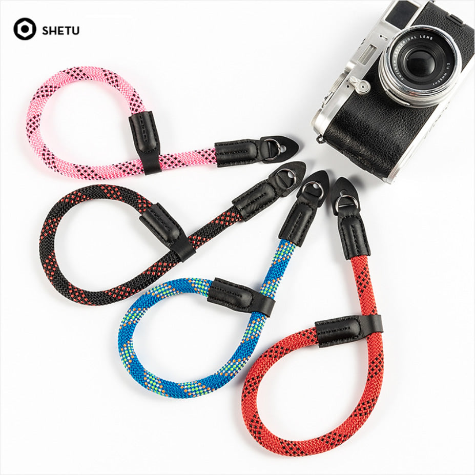 Climbing Rope Camera Wrist Strap for Sony Fujifilm Pentax
