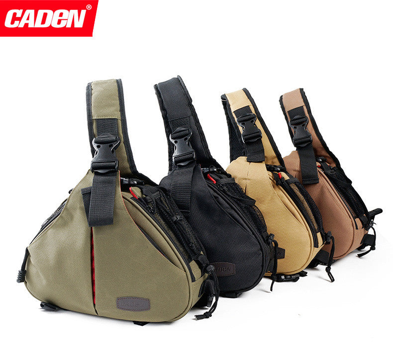 Caden K1 Shoulder Camera Bag Triangle Carry Case for Nikon Canon