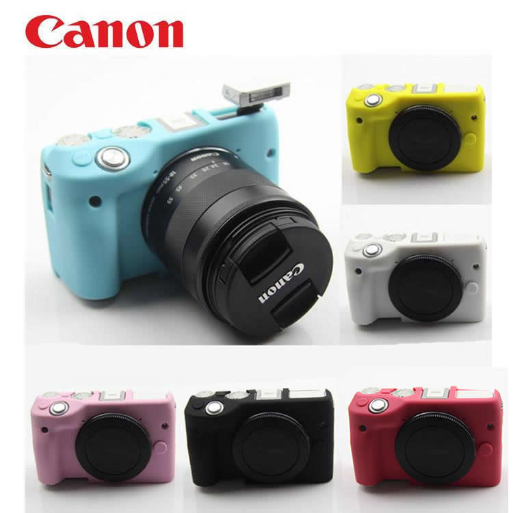 Silicone Rubber Case for Canon EOS M3