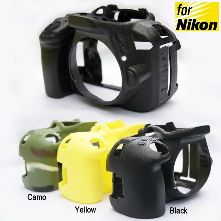 Silicone Rubber Case for Nikon D5300