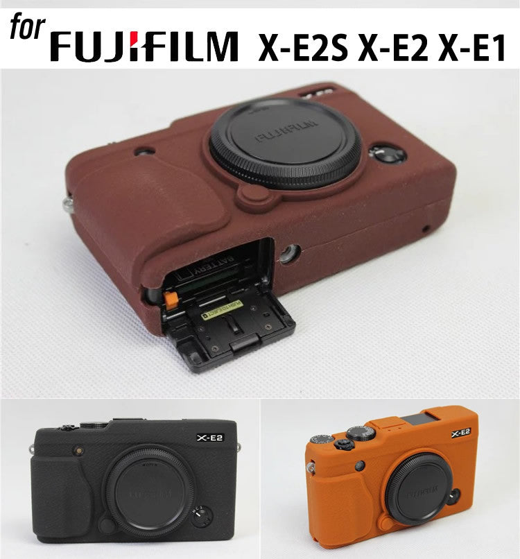 Silicone Rubber Case for Fujifilm X-E2S X-E2 X-E1