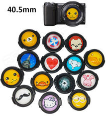 40.5mm Cartoon Lens Cap for Sony NEX5R 5T 3N A5000 16-50mm Lens