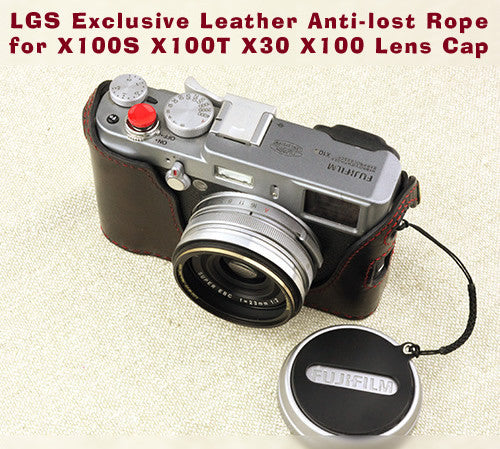 [Larry Gadget Store] Leather Anti-Lost Rope for X100S X100T X30 X100