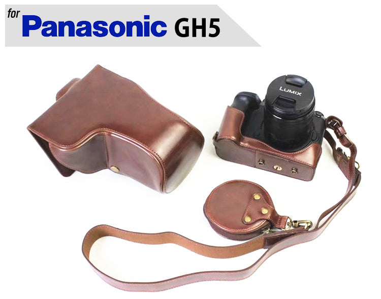 Leather Case Holster for Panasonic GH5