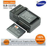 DSTE SLB-1137D 1600mAh Battery and Charger for Samsung TL34HD i80 i100 L74 NV1 NV30