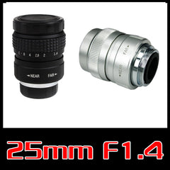 Fujian 25mm F1.4 CCTV Camera Lens