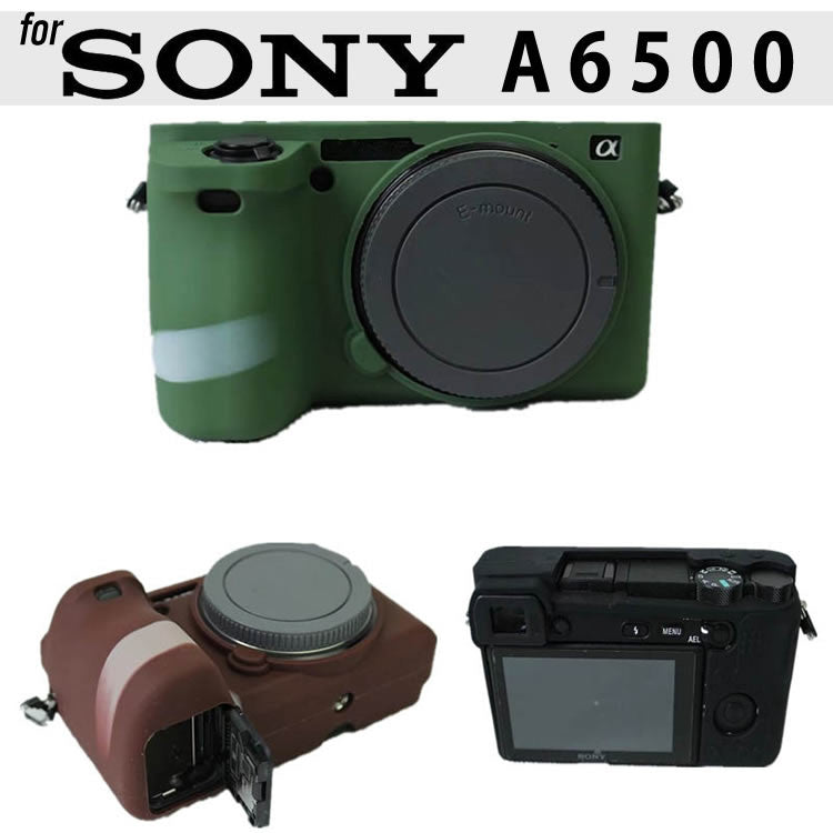 Silicone Rubber Case for Sony A6500
