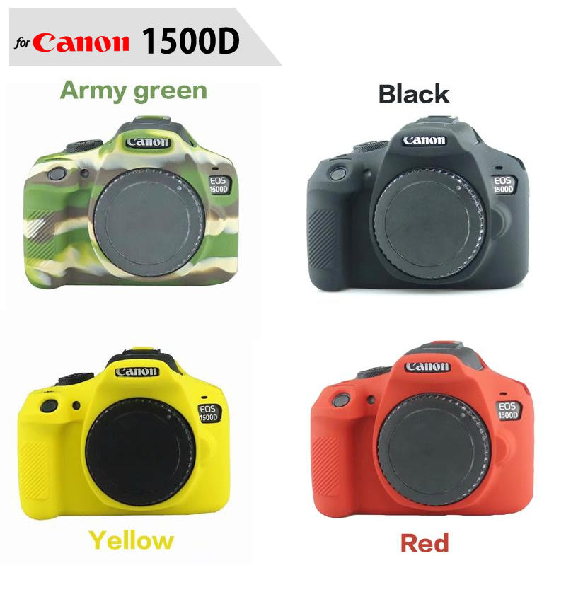 Silicone Rubber Case for Canon 1500D