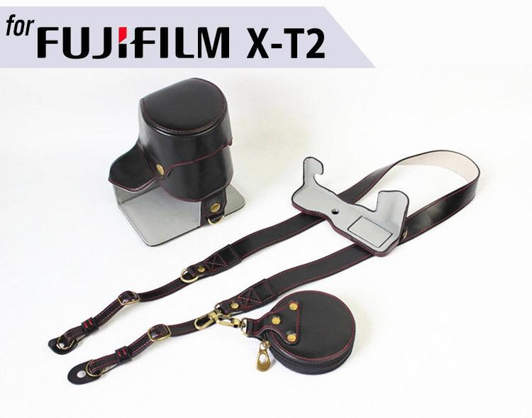 Leather Case Holster for Fujifilm X-T2 XT2