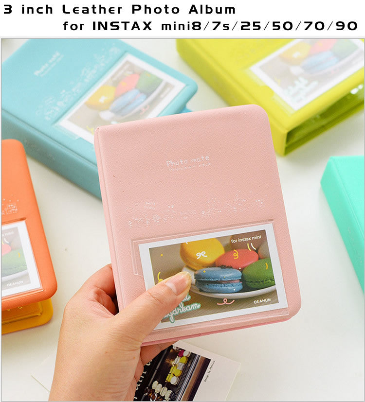 3-inch Photo Album for Fujifilm Instax Mini | 64 pockets